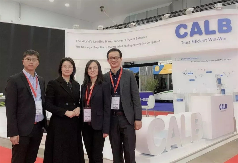 High Technology Boosts Electrification of Buses--CALB attends BUSWORLD